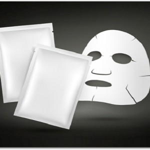 facial mask and blank package for cosmetics